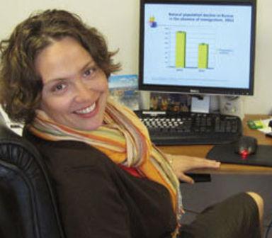 Ольга Гулина, директор и сооснователь Института миграционной политики